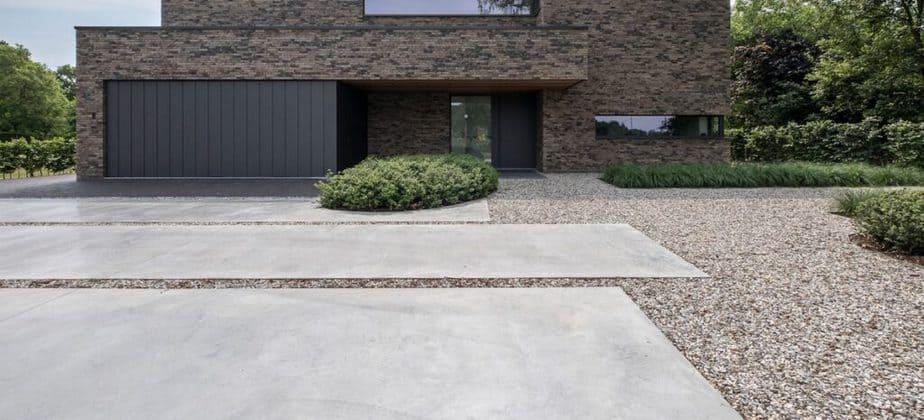 Oprit in beton © Corthout beton