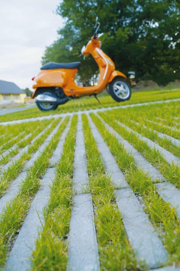Moderne grasdallen © Engineering Discoveries