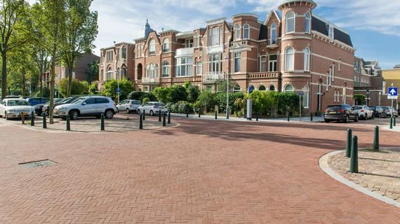 Kleiklinkers voor straat in Den Haag © Vandersanden